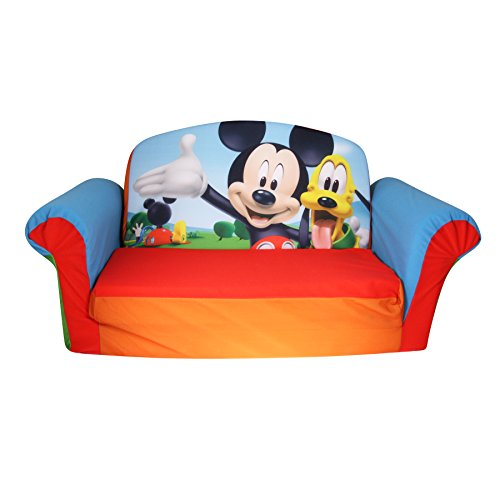 Marshmallow Furniture Flip Open Sofa – Mickey Mouse Club House image
