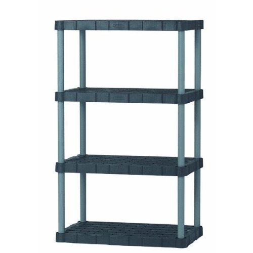 Shelving Rubbermaid 5H08 00CSLRK 4 Shelf Utility Shelving