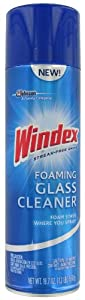 Windex Aerosol Foaming Glass Cleaner 19.7 Oz-19.7 oz.