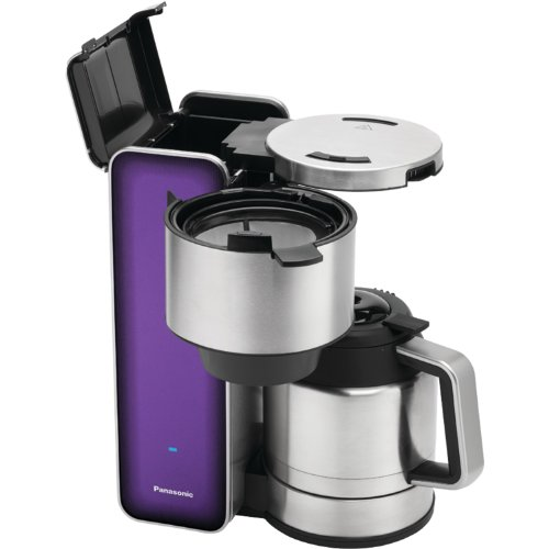 "Panasonic ""Breakfast Collection"" NC-ZF1V Coffee Maker, Stainless Steel"