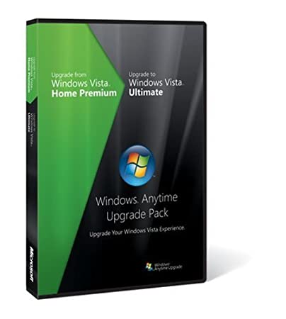 Microsoft Windows Vista Anytime Upgrade Pack [Vista Home Premium to Vista Ultimate]