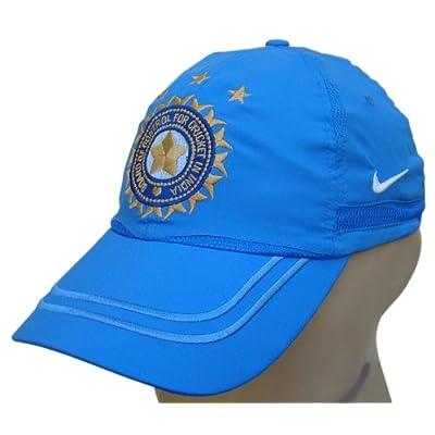 Amazon.com : Nike Team India ODI Cricket Cap with BCCI Logo, Blue