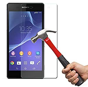 OPUS Curve 2.5D TEMPERED GLASS FOR Sony Xperia Z2 (PACK OF 2) + OTG CABLE FREE