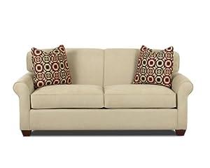 Calgary Full Sleeper Sofa In Fastlane Oatmeal