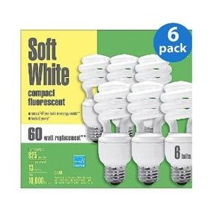 Ge Energy Smart 13W Soft White Compact Fluorescent front-94542