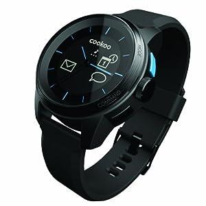 Reloj Cookoo SmartWatch Bluetooth 4.0 Negro/Negro para iPhone,iPad,iPod Touch (iOS 5 / iOS 6)