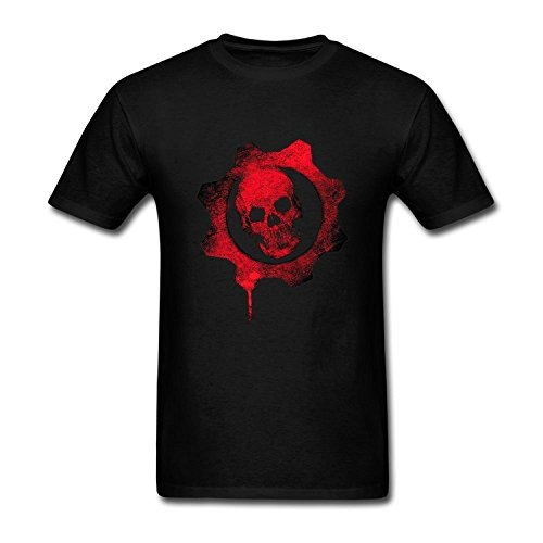 FUSHUO Men's Gears of War 4 T-shirt - X-Large