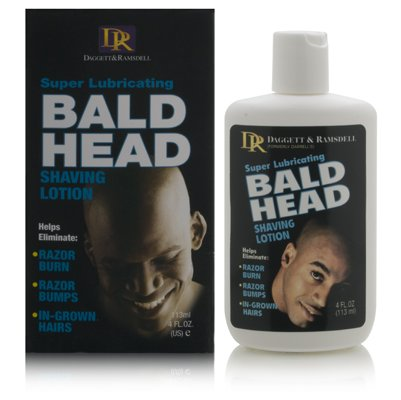 Daggett & Ramsdell Super Lubricating Bald Head Shaving Lotion Hair Removal Products
