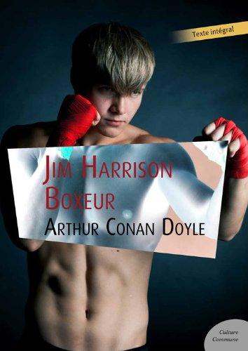 Couverture du livre Jim Harrison Boxeur
