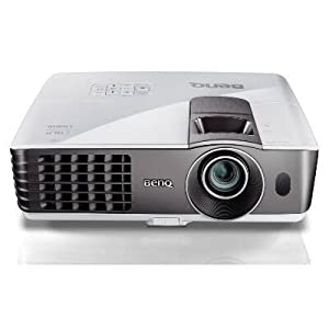 BenQ MW721 3D Ready DLP Projector 720p HDTV 16:10 1280x800 WXGA 13000:1 3500 lumens HDMI VGA USB Speaker Ethernet