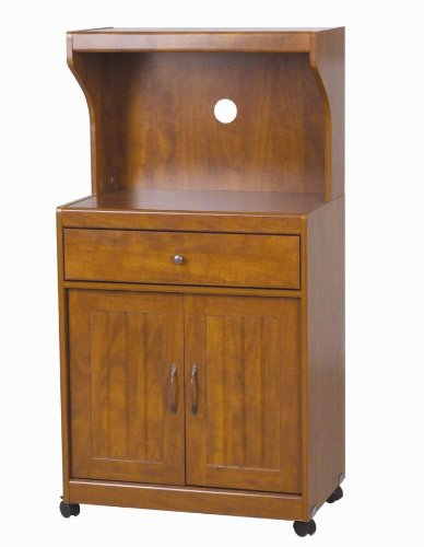 Microwave carts with storage home source industries kevin for Home source