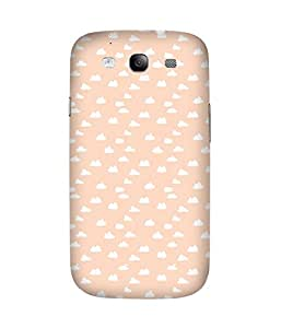 Peach Clouds Back Cover Case for Samsung Galaxy S3