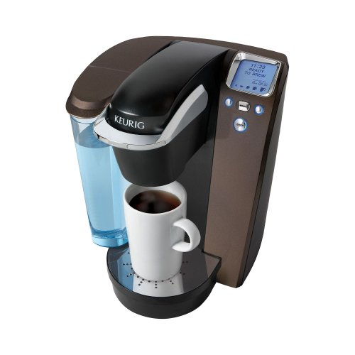Keurig K75 Single-Cup Home-Brewing System With Water Filter Kit, Platinum/Mocha front-570357