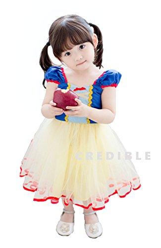 CREDIBLE 白雪姫 ハロウィン キッズ コスチューム 90cm