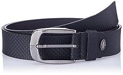 Dandy AW 14 Black Leather Men's Belt (MBLB-259-S)