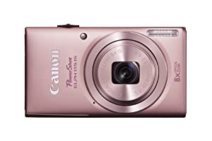 Canon PowerShot ELPH 115 IS 16.0 MP Digital Camera with 8x Optical Zoom with a  28mm Wide-Angle Lens and 720p HD Video Recording (Pink)
