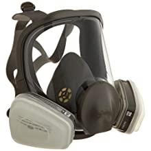 3M Low-Maintenance Full Face Piece Organic Vapor, P95 Respirator Assembly, Medium