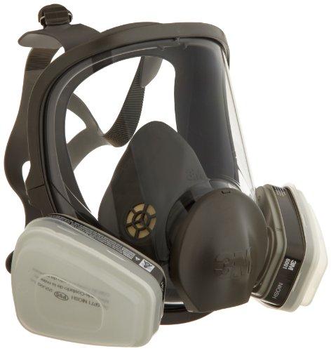 フルフェイス Piece Organic Vaporマスク、レスピレーターP95(Mサイズ) 3M社【並行輸入】