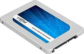 Crucial [Micron製Crucialブランド] 内蔵 SSD 2.5インチ BX200シリーズ ( 480GB / 国内正規品 / SATA / 7mm / 9.5mmアダプタ付属 ) 自社製TLCメモリー搭載 CT480BX200SSD1