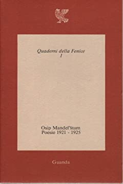 Cover Poesie (1921-1925). Testo originale a fronte