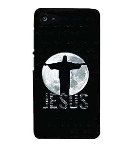 PrintVisa Religious & Spiritual Jesus 3D Hard Polycarbonate Designer Back Case Cover for Lenovo Zuk Z2