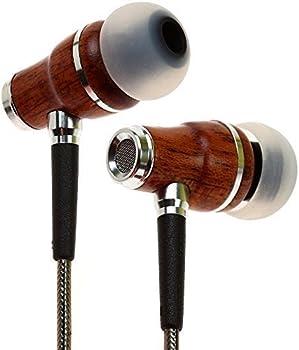 Symphonized NRG 2.0 Premium Genuine Wood Earbuds w/Mic
