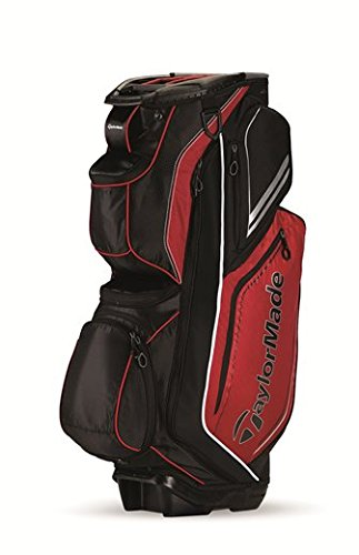 TaylorMade TM15 Catalina Golf Cart Bags, Red Black White
