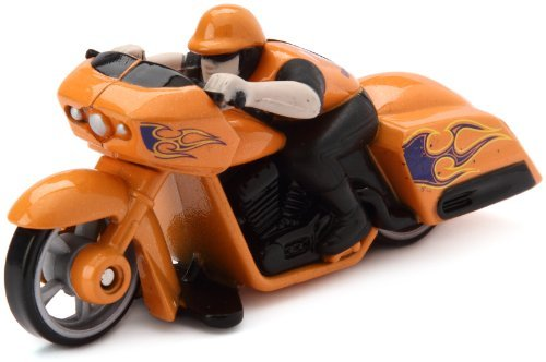 Speed Cycles-Hot Wheels Motor Motorcycle Road Roller