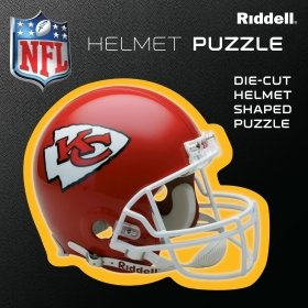 Kansas City Chiefs Team Helmet Puzzle at Amazon.com