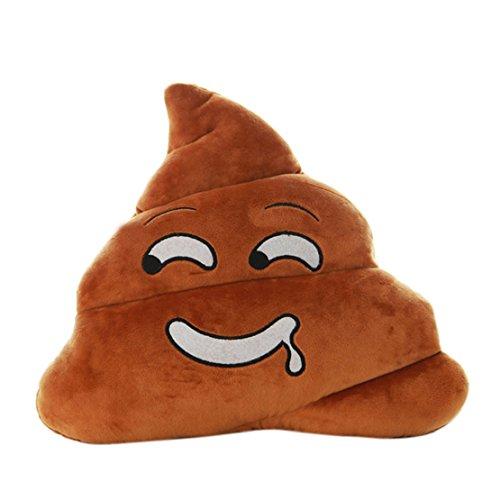 Tonsee Mini Speichel Emoji Emoticons Poo Form Kissen Puppe Spielzeug Throw Kissen