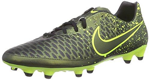 NikeMagista Onda FG - Scarpe da Calcio Uomo , Giallo (Gelb (Dark Citron/Drk Citron-Blk-Vlt 370)), 44