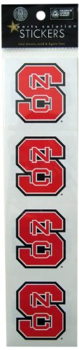 Sports Solution North Carolina State Wolfpack Logo Sticker - 1