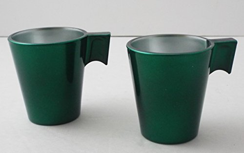 Luminarc Flashy Expresso Cups ~ Green ~ Set of 2 ~ Espresso Cups (Luminarc Coffee Cup compare prices)