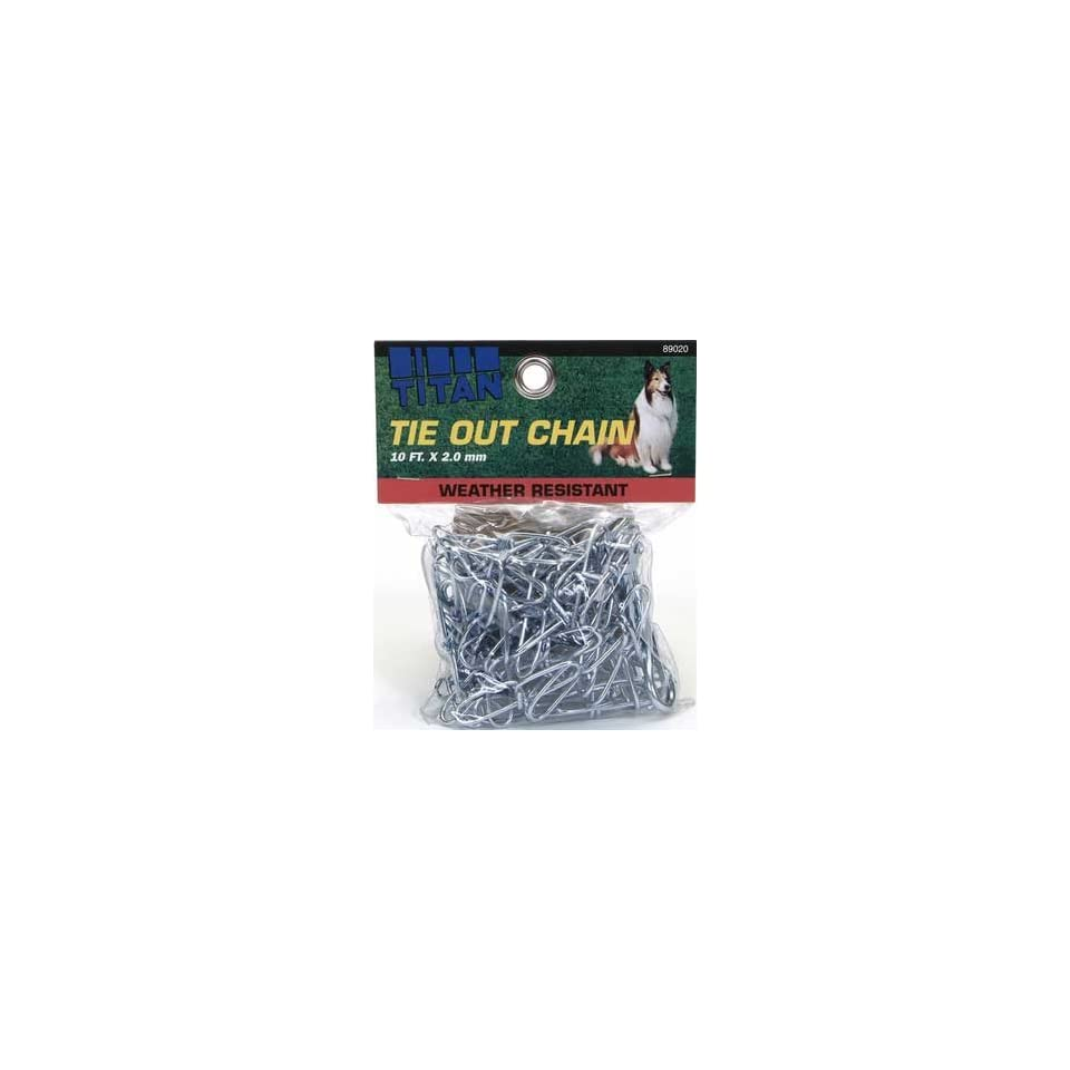 (Price/1)C Chain Twisted Link Tieout 2.0mm   10ft