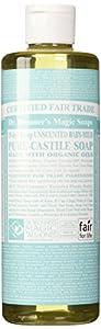 Dr. Bronner - 'S 18-In-1 Hemp Un-Scented Baby Mild Pure-Castile Liquid Soap, 16-Ounce Bottle