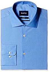 Blackberrys Men's Formal Shirt (8907196551366_MSSOC84CBAN06BPQ_44_Cadet Blue)