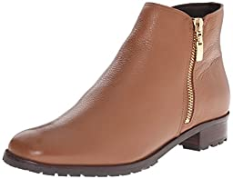 Dune London Women\'s Porta Boot, Tan Leather, 7 M US
