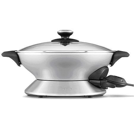 Breville The Hot Wokè (Electric Wok - Stainless Steel)