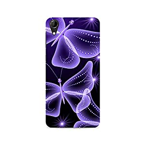 TAZindia Designer Printed Hard Back Case Mobile Cover For HTC Desire 728