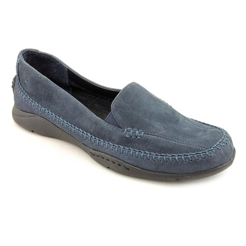 Aerosoles Ivory Tree Loafers Shoes Blue Womens