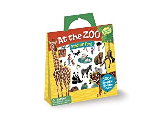 Peaceable Kingdom / Sticker Fun! At the Zoo Reusable Sticker Tote