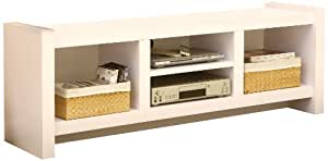 Enitial Lab Myra TV Cabinet, 60-Inch, White