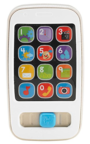 Fisher-Price Laugh & Learn Smart Phone - Gold - 1