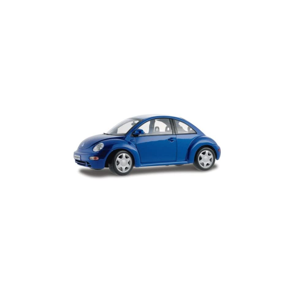 Volkswagen New Beetle Blue 118 Diecast Car Model