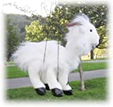 Sunny Puppets White Baby Goat Marionette
