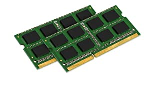 Kingston Technology 8GB Kit (2x4 GB Modules) 1066MHz DDR3 SODIMM Notebook Memory for Select Apple iMac's and Macbooks KTA-MB1066K2/8G by Kingston H. Corporation