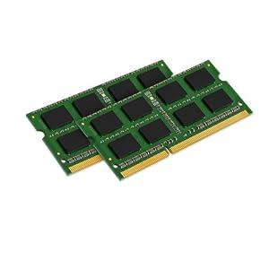 【クリックで詳細表示】【Kingston(キングストン)】 永久保証 ノートPC用増設メモリ 16GB(8GB×2枚組) DDR3-1600(PC3-12800) Non-ECC CL11 SODIMM (204pin) KVR16S11K2/16