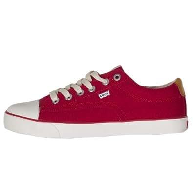 Levis Canvas Shoes UK 10.5 Red
