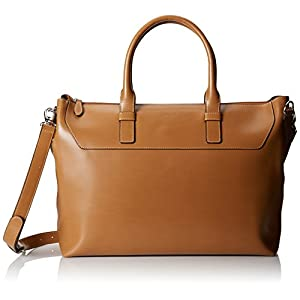 Lodis Audrey Wilhelmina Work Satchel,Toffee,One Size