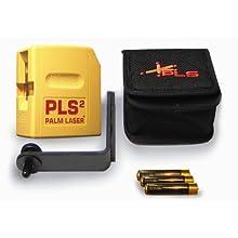 PLS Laser PLS-60528 PLS 2 Palm Laser Tool, Yellow